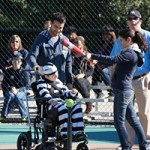Playing baseball and enjoying Halloween with the Miracle League of the Triangle